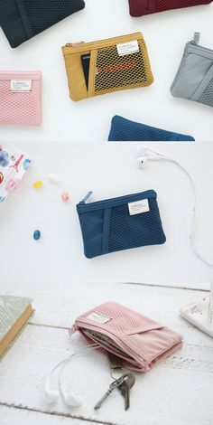 When I want to travel lightly, I always take my A Low Hill Mini Mesh Pouch with me! Highly versatile for any situation, it's absolutely perfect when I need to carry my small items!