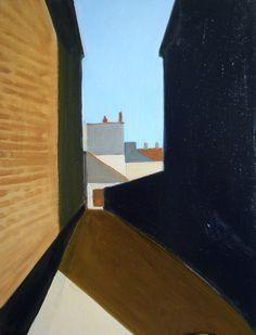 "MIKE PARKINSON; Oil, 2011, Painting ""ALLEY"""