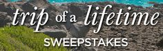 Wheel of Fortune is organizing the 2015 Trip of a Lifetime Sweepstakes and is giving away the chance to win a free trip to the Galapagos Islands plus other big prizes!
