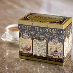 The traditional rich blend served in our Café Tea Rooms Tea Packaging, Pretty Packaging, Brand Packaging, Afternoon Tea At Home, Photocollage, Tea Tins, Gift Hampers, Vintage Tins, Packaging Design Inspiration