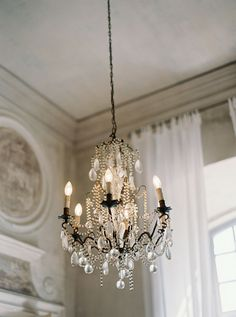 French Chateau Wedding Inspiration by Laura Gordon on Wedding Sparrow