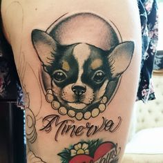 images of chihuahua tattoo - Google Search