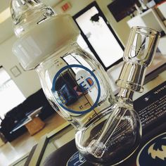 High Tech Glassworks Baked Clear Baby Bottle Rig