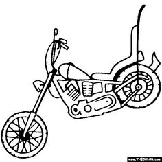 14 best harley images coloring pages coloring pages to print 1970 Honda Car harley davidson coloring pages to print harley davidson motorcycle coloring page harley davidson chopper