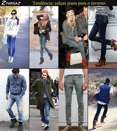 Em breve você verá a nova coleção da Fargaz Jeans para o inverno 2013! Mas, enquanto isso, que tal ficar por dentro das tendências de calças jeans femininas e masculinas para a estação mais fria do ano?
