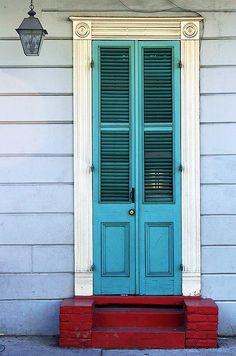 New Orleans Door #3 by Mark Interrante (aka pinhole), via Flickr