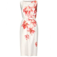 mytheresa.com - Giambattista Valli - SILK SHEATH DRESS WITH PRINT - Luxury Fashion for Women / Designer clothing, shoes, bags