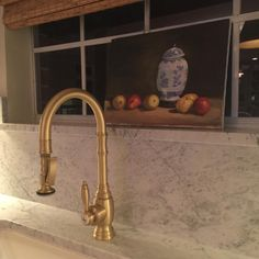 """Candice Cowin on Instagram: """"@waterstoneusa #kitchen #faucet is in! Feeling thankful for my handy hubby tonight. 🤗"""" Kitchen Faucets Pull Down, Feeling Thankful, Waterworks, Feelings, Painting, Instagram, Painting Art, Paintings, Painted Canvas"""