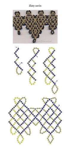 Beaded jewellry – Some simple beaded patterns