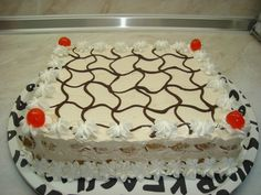 Cookbook Recipes, Cooking Recipes, Greek Recipes, Candy Recipes, Confectionery, No Bake Cake, Frozen, Food And Drink, Sweets