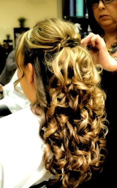 This is my hair on my wedding day! it was amazing and would do it again!