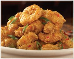 Bonefish Grill Menu: Bang Bang Shrimp and Chicken - Bonefish Grill's Favorite Can Now Be the Hit of Your Next Party! Bonefish Grill Recipes, Shrimp Recipes, Copycat Recipes, Grilling Recipes, Appetizer Recipes, Appetizers, Great Recipes, Favorite Recipes, Yummy Recipes