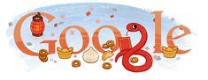 Doodleando, Los Logos de Google: Año nuevo Chino 2013