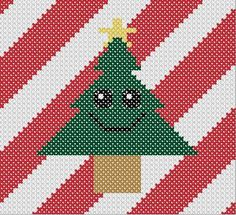 Embroidered Pine Tree - Free Pattern