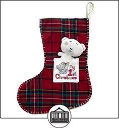 Tiny Tatty Teddy Me To You Mi primera media de la Navidad y del oso de peluche Peluche  ✿ Regalos para recién nacidos - Bebes ✿ ▬► Ver oferta: http://comprar.io/goto/B00O28OP7U