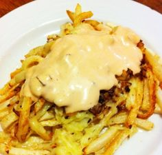 Caveman Style Fries --mmmade from jicama - A #paleo version of In-N-Out Animal Style