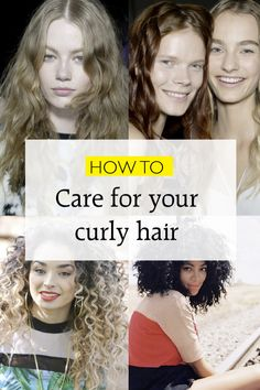 How To Care For And Wash Curly Hair | Hair | Grazia Daily