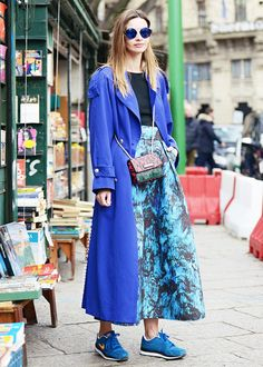 How to Wear Fall's Most Daring Trend Today via @WhoWhatWear