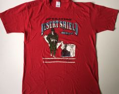 A personal favorite from my Etsy shop https://www.etsy.com/listing/460443642/operation-desert-shield-t-shirt-persian