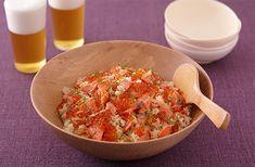 鮭といくらの親子炊き込みごはん | お酒にピッタリ!おすすめレシピ | サッポロビール