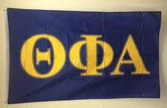 Brothers and Sisters' Greek Store - Theta Phi Alpha Sorority Flag, $19.95 (http://www.brothersandsistersgreekstore.com/theta-phi-alpha-sorority-flag/)
