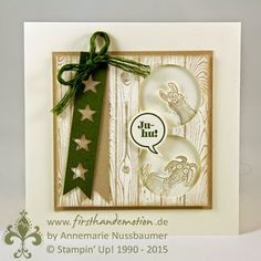 Stampin' Up! by First Hand Emotion: Rasselbande