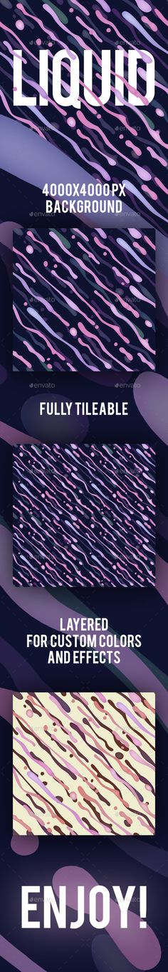 Liquid tiled background #design Download: http://graphicriver.net/item/liquid-tiled-background/13619982?ref=ksioks