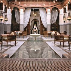 The Royal Mansour - Marrakesh, Morroco - Luxury Accommodations