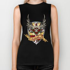 ART IS SALVATION - UNISEX Muscle Tank by Angel Torres - $28