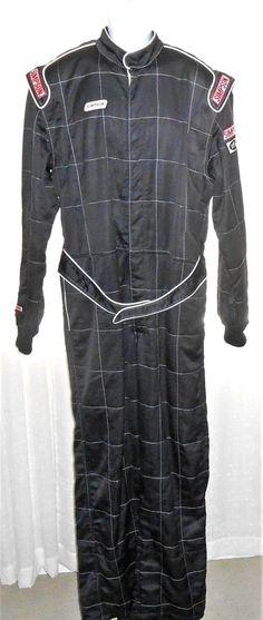 Simpson Nomex Black 1 Piece Racing Firesuit STD 19 Size XL from Daytona  #Simpson