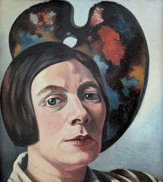 https://flic.kr/p/zcj15p | Charley Toorop - Self-Portrait [1934] | [Kröller-Müller Museum, Otterlo, Netherlands - Oil on canvas]
