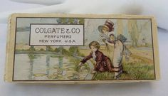 Colgate Gift Set young couple at pond cover