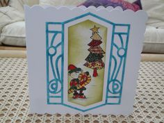 Christmas pixies - stamping, pro markers and die cutting