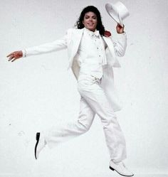He looked good in white.