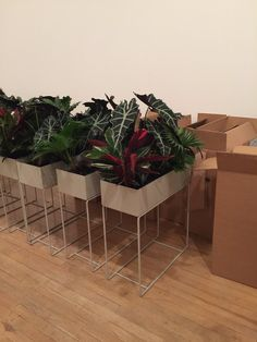 Our install at tate modern