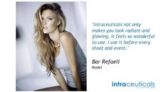Celebrities choose intraceuticals as their preferred skin treatment.