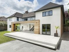The Runners House located in Winchester, England, designed by AR Design Studio.