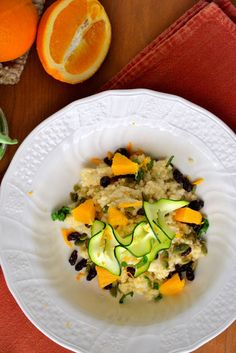 A Gluten-Free Recipe You'll Want to Make for Every Lunch This Fall: Orange Basil Millet Salad #glutenfree