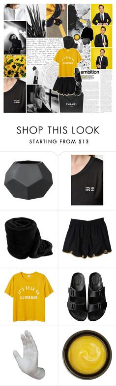 """""""you try chasing dreams, man it's harder than it seems. ✧"""" by same-sunset ❤ liked on Polyvore featuring Nicole Miller, LA: Hearts, Chanel, Monki, American Rag Cie, Interior Illusions Plus, de Mamiel and Old Navy"""