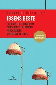 Evig aktuell. I denne finner du hele seks av Henrik Ibsens skuespill: Peer Gynt, Et dukkehjem, Vildanden, Hedda Gabler og Byggmester Solness