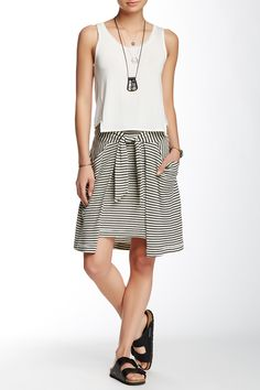 Free People | All Tied Up Striped Skirt | HauteLook
