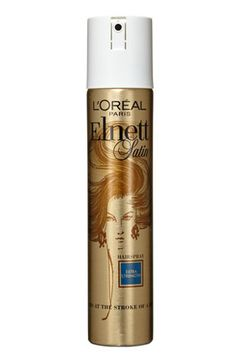 And, of course, there's Elnett. By now, you know that this product is an absolute must-have for just about every hairstylist out there. Stylists previously had to travel to Paris to stock up, but now thankfully, this good-hair-day-in-a-bottle is available at drugstores nationwide.