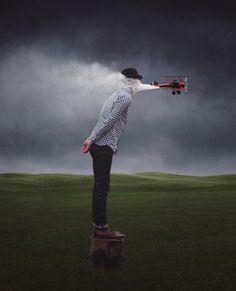 Die fotografischen Illusionen von Logan Zillmer entführen euch in eine surreale Welt | The Creators Project