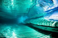 Wave from under water