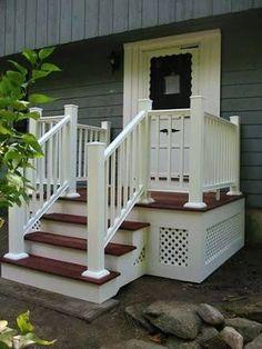 front porch steps ideas - Google Search