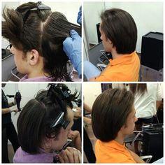 Quien dijo q un hombre no puede hacerse un tratamiento de queratina alisado brasileño? En Aquarela peluqueria consigue un alisado natural