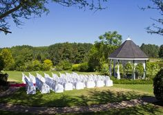 Oliver's Restaurant And Lodge makes for an exceptionally pretty wedding venue. Gazebo, Wedding Venues, Dream Wedding, Outdoor Structures, Restaurant, Pretty, Weddings, Wedding Reception Venues, Kiosk