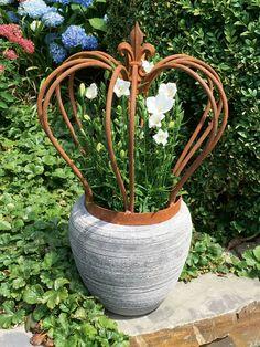 Nostalgische Krone 'Royal Crown' - Gartendekoration Garten - THE BRITISH SHOP Versandhandel GmbH & Co. KG