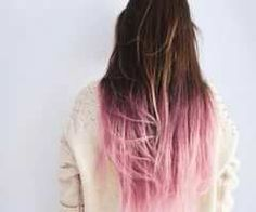 Pink shatush