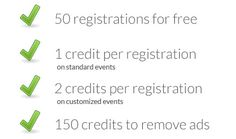 Edison event registration software - pricing